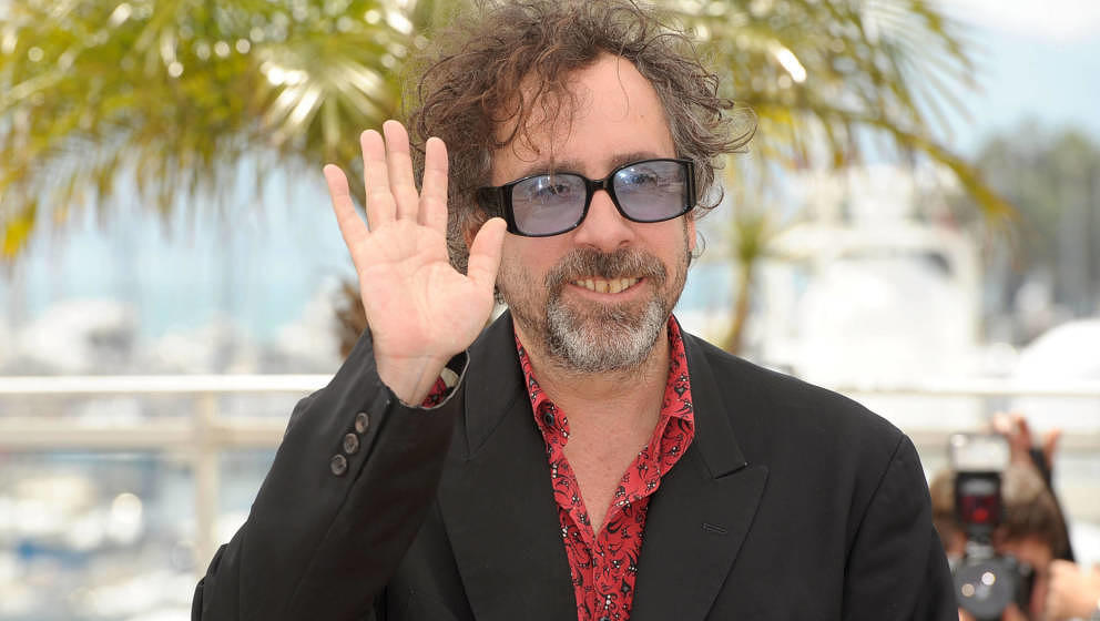 Starregisseur Tim Burton beim Filmfestival in Cannes am 12. Mai 2010.
