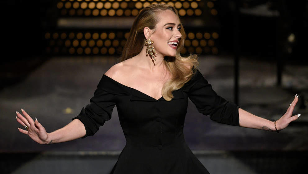 SATURDAY NIGHT LIVE -- 'Adele' Episode 1789 -- Pictured: Host Adele during the Monologue on Saturday, October 24, 2020 -- (Ph