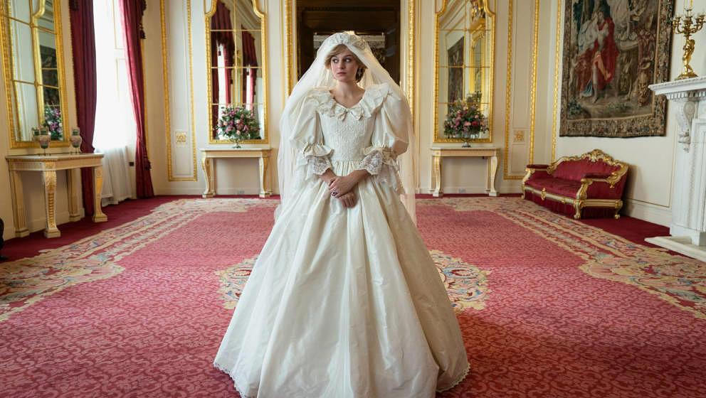"""Newcomerin Emma Corrin spielt Prinzessin Diana in der vierten Staffel von """"The Crown""""."""