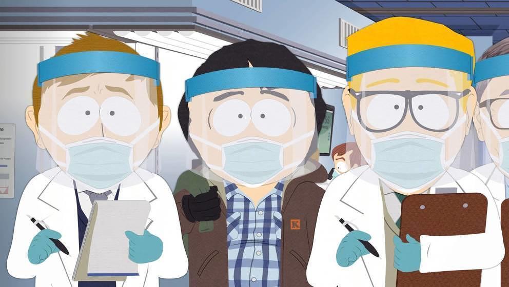 """Szene aus dem """"Pandemic Special"""" von """"South Park"""""""