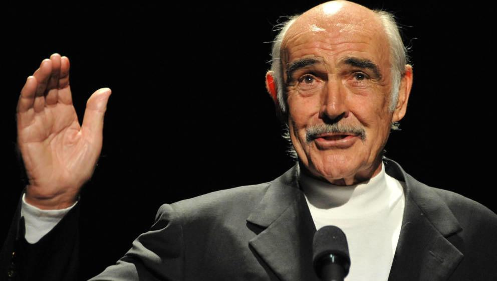 Sean Connery, hier im Jahr 2008.