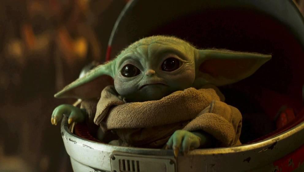 Baby Yoda: Das Kind scheint gute Gitarrenmusik wertzuschätzen.