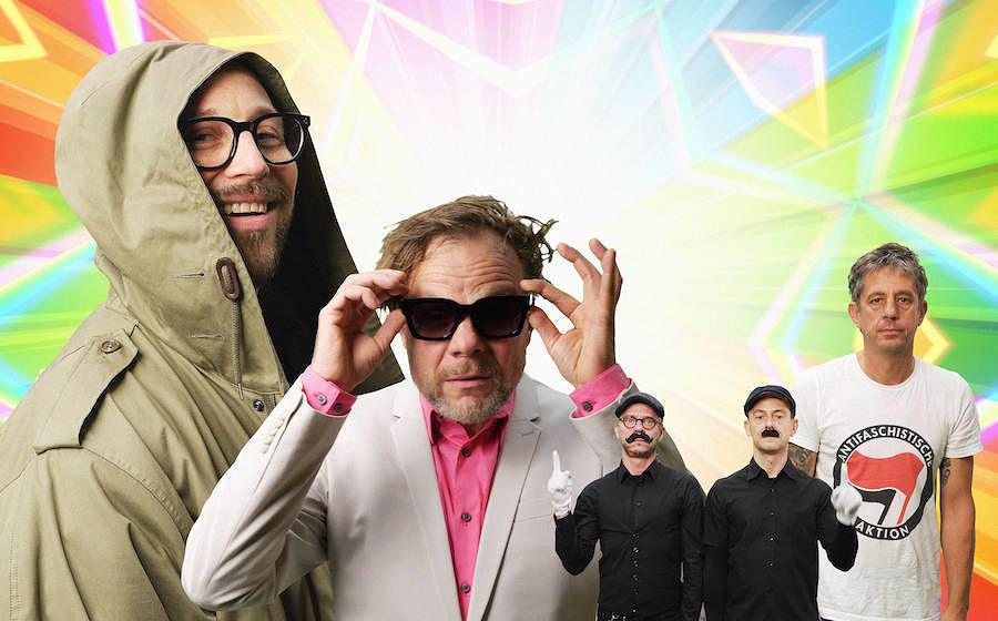 """Die Beatsteaks sind zurück: Ihre erste neue Single ist ein Cober von Anette Humpes """"Monotonie""""."""