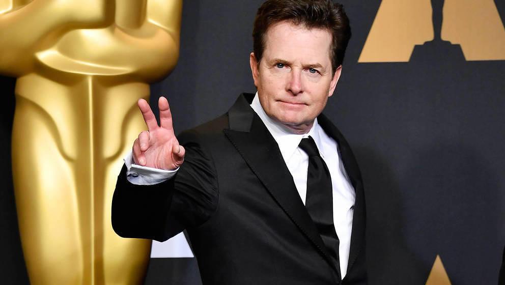 Michael J. Fox 2017 bei der Oscar-Verleihung.