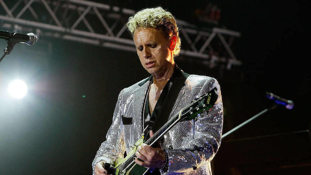 Depeche Modes Martin Gore hier 2009 in London.