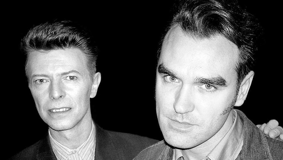 1991 standen David Bowie und Morrissey erstmals gemeinsam auf der Bühne.