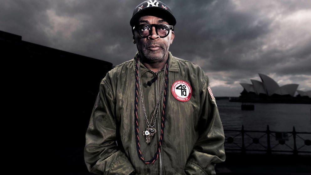 (AUSTRALIA OUT) American film producer, Spike Lee, is in Sydney to speak at the Game Changer Series, which is part of the Viv