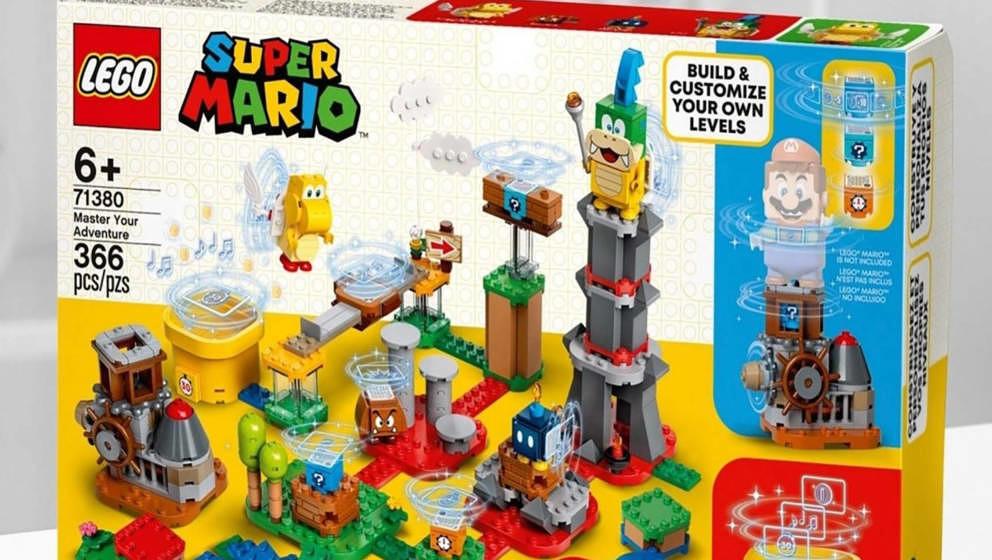 LEGO Super Mario: Die Erweiterungen kommen im Januar 2021