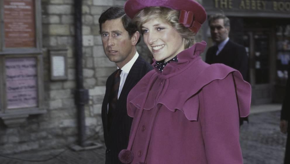 Prince Charles und Prinzessin Diana 1982.