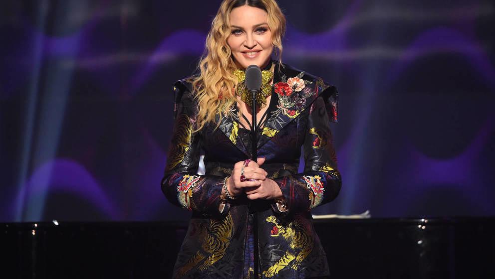 Madonna 2016 in New York City.