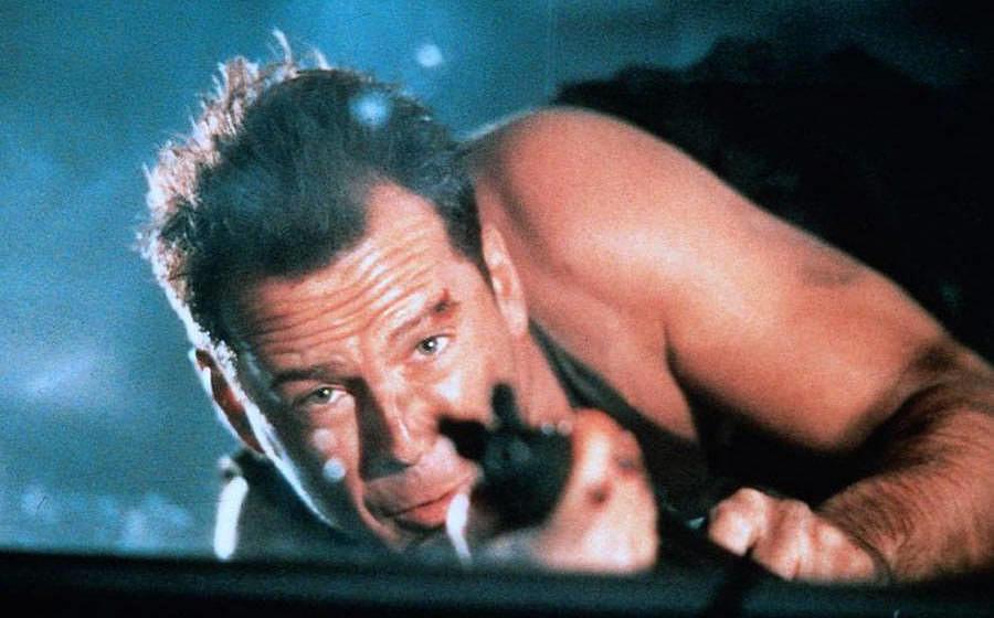 """""""Stirb langsam"""" mit Bruce Willis, alias John McClane"""