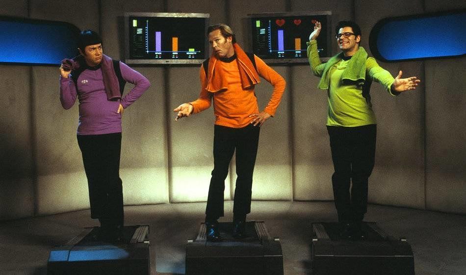 """""""(T)Raumschiff Surprise"""" parodiert sowohl """"Star Trek"""" als auch """"Star Wars""""."""