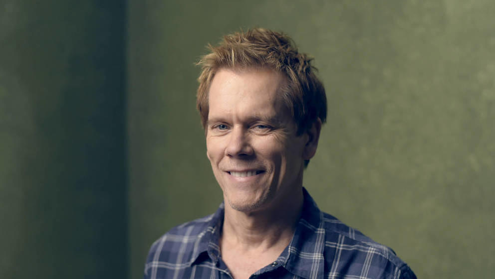 PARK CITY, UT - JANUARY 24:  Actor Kevin Bacon from 'Cop Car' poses for a portrait at the Village at the Lift Presented by Mc