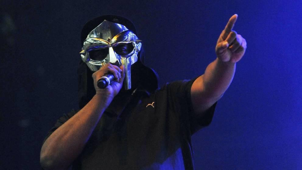 MF Doom 2011 bei einem Konzert in London