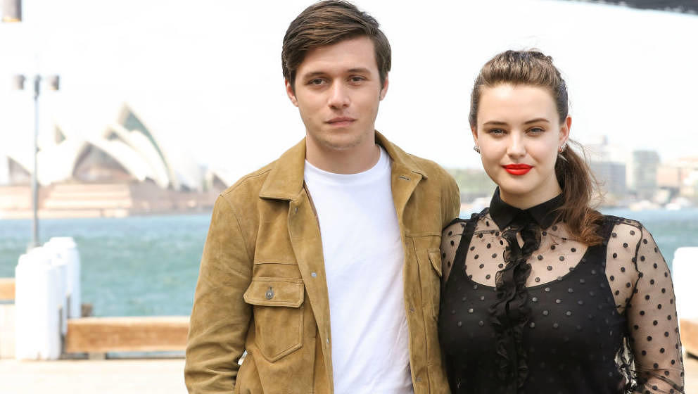 SYDNEY, AUSTRALIA - MARCH 20:  Nick Robinson and Katherine Langford attend a photo call for 'Love, Simon' on March 20, 2018 i