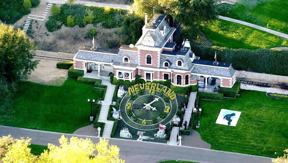 Die Neverland-Ranch vor Michael Jacksons Tod.