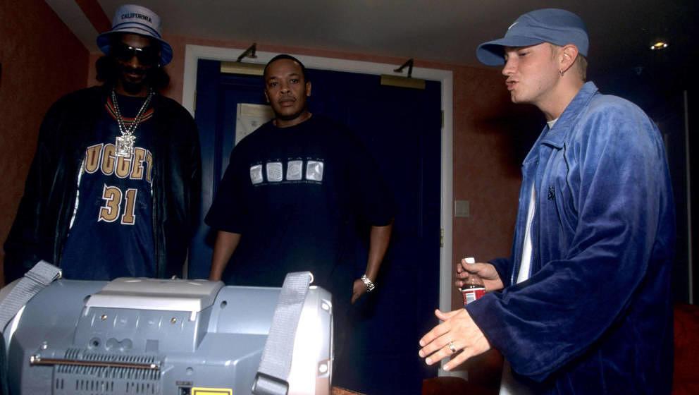 Sind Snoop Dogg und Eminem wieder gute Freunde?