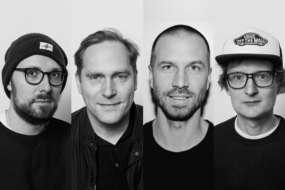"""Erst im vergangenen Sommer bespielten Thees, Simon Frontzek und Rudi Maier mit ihrer """"Songs & Stories""""-Tour 15 deutsche S"""