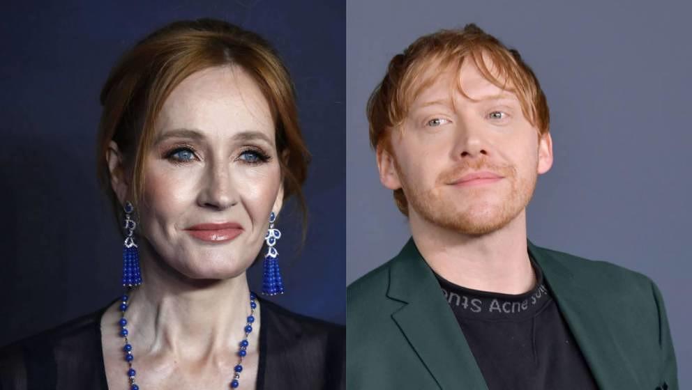 Rupert Grint kritisierte die Harry-Potter-Autorin öffentlich für ihre transphoben Äußerungen