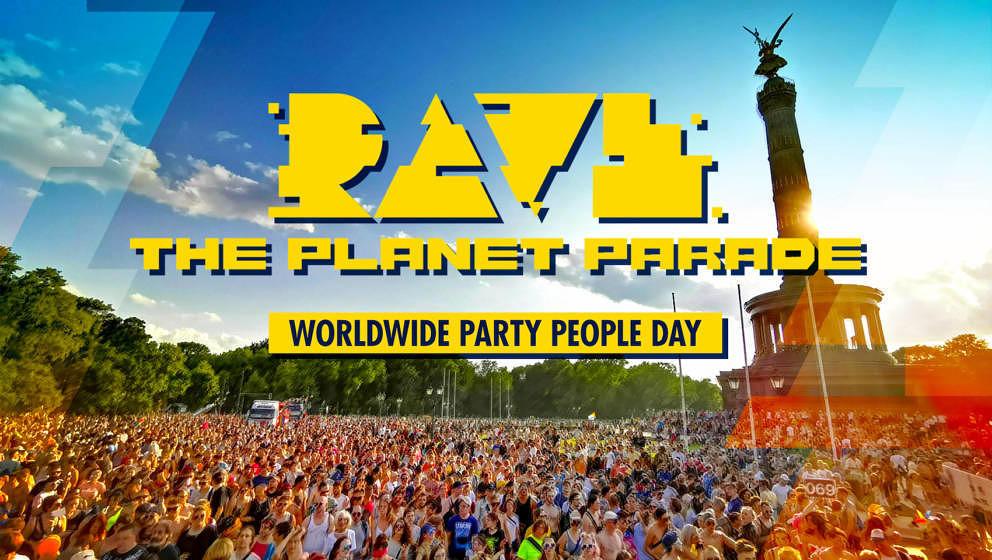 So könnte die Rave The Planet Parade im Jahr 2022 aussehen