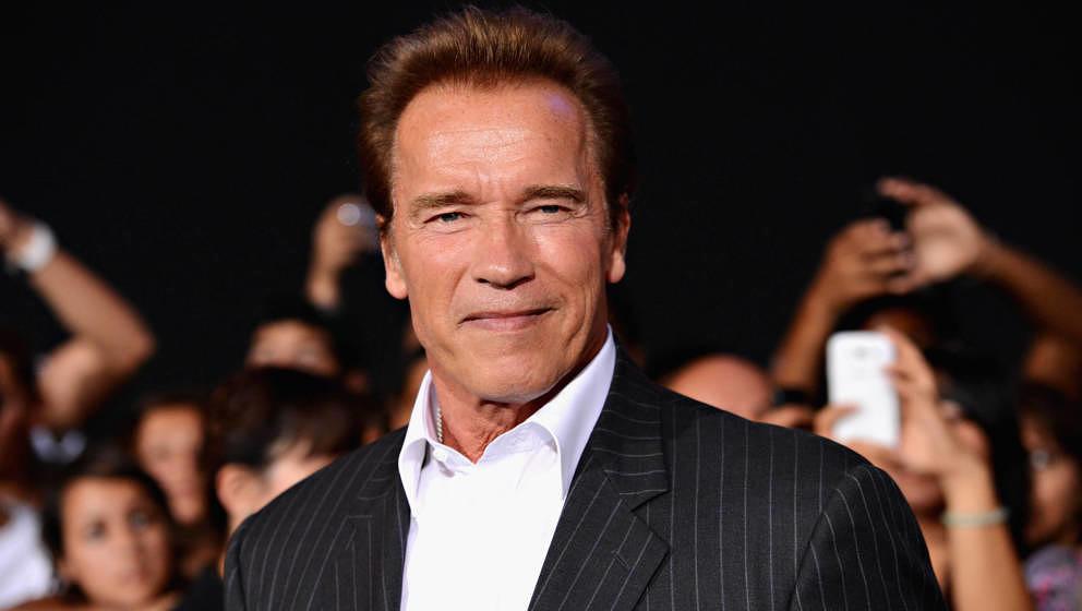 Arnold Schwarzenegger 2012 in Los Angeles.