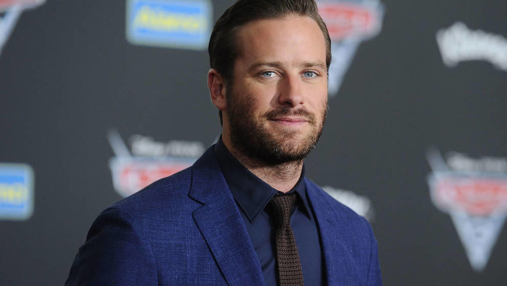 ANAHEIM, CA - JUNE 10:  Actor Armie Hammer attends the premiere of 'Cars 3' at Anaheim Convention Center on June 10, 2017 in
