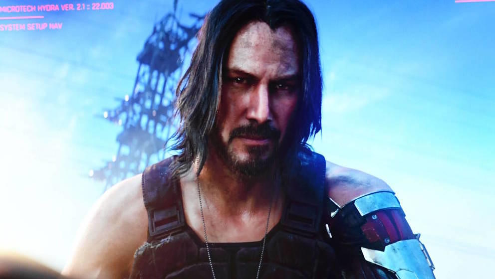 Keanu Reeves als Silverhands in Cyberpunk 2077