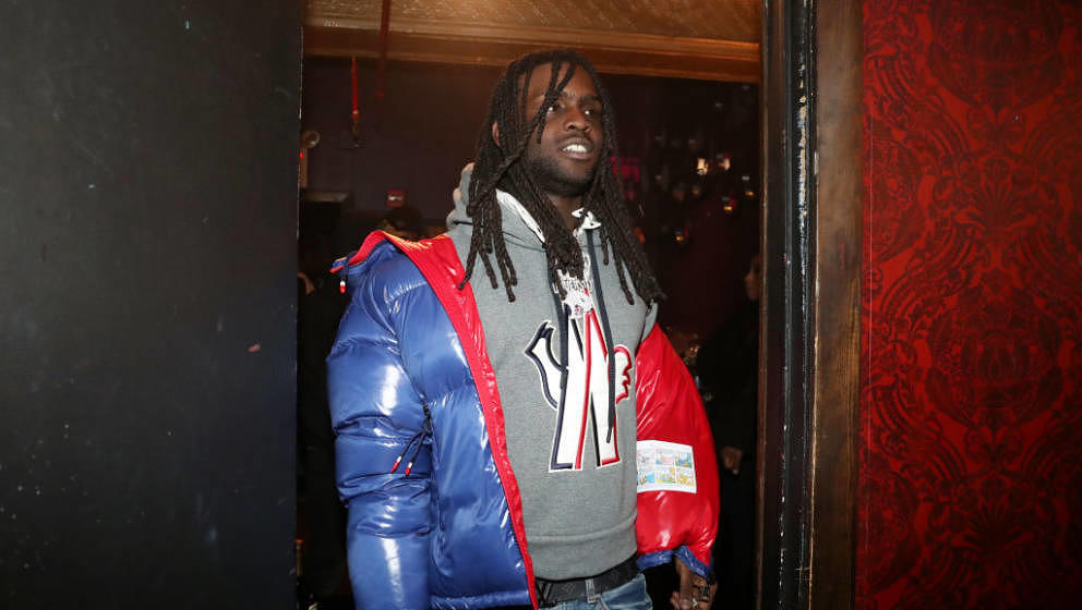 NEW YORK, NY - OCTOBER 30:  Recording artist Chief Keef backstage at Irving Plaza on October 30, 2018 in New York City.  (Pho