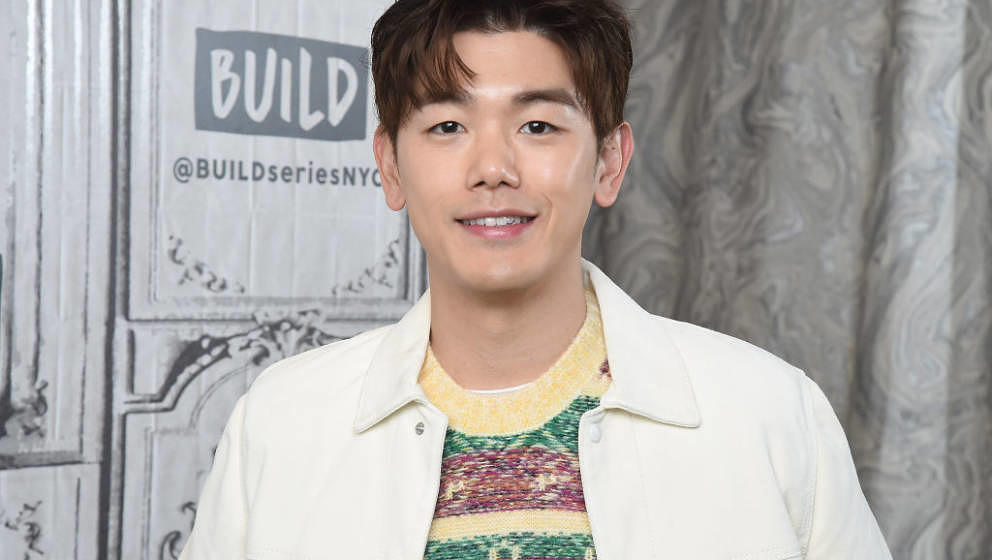 """NEW YORK, NEW YORK - NOVEMBER 04: Singer/songwriter and TV host Eric Nam visits the Build Series to discuss the album """"Befo"""