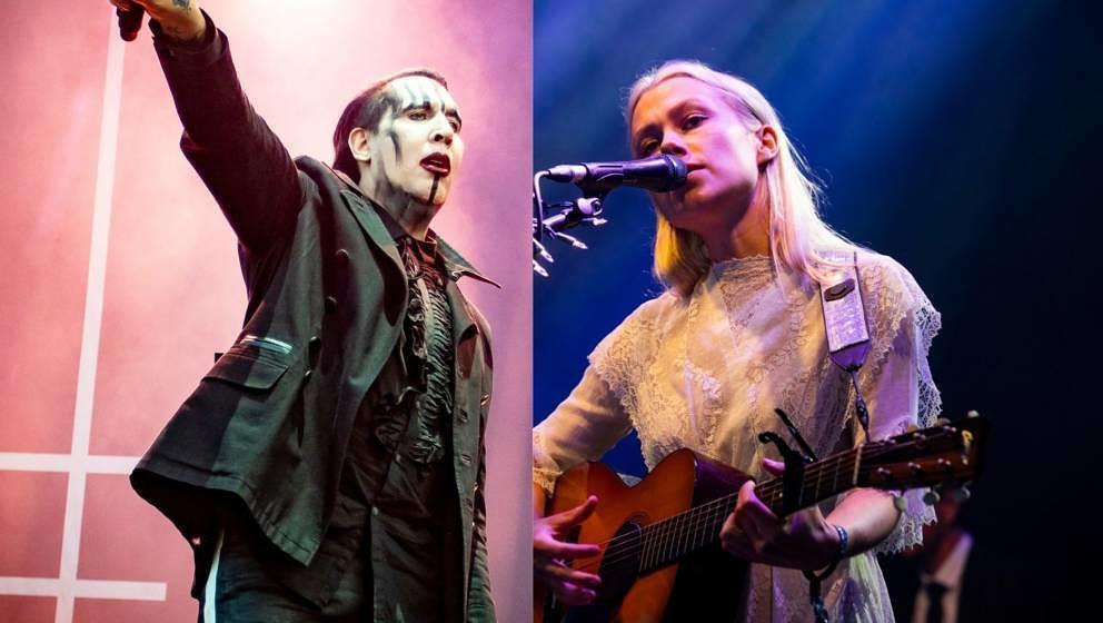 Marilyn Manson und Phoebe Bridgers