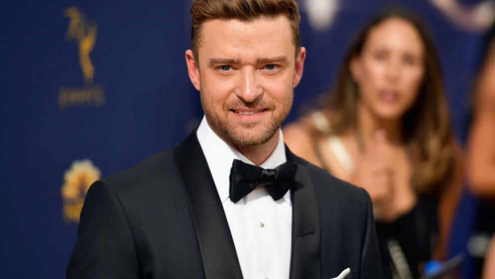 LOS ANGELES, CA - SEPTEMBER 17: Justin Timberlake attends the 70th Emmy Awards at Microsoft Theater on September 17, 2018 in