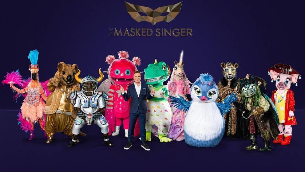 """Das sind die Kostüme der vierten Staffel """"The Masked Singer"""", 2021"""