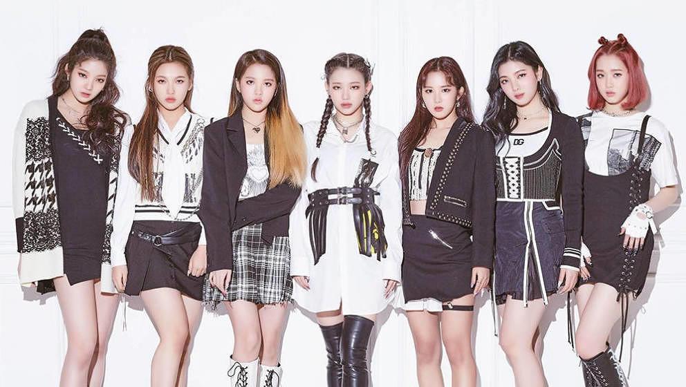 Die K-Pop-Newcomerinnen TRI.BE, 2021