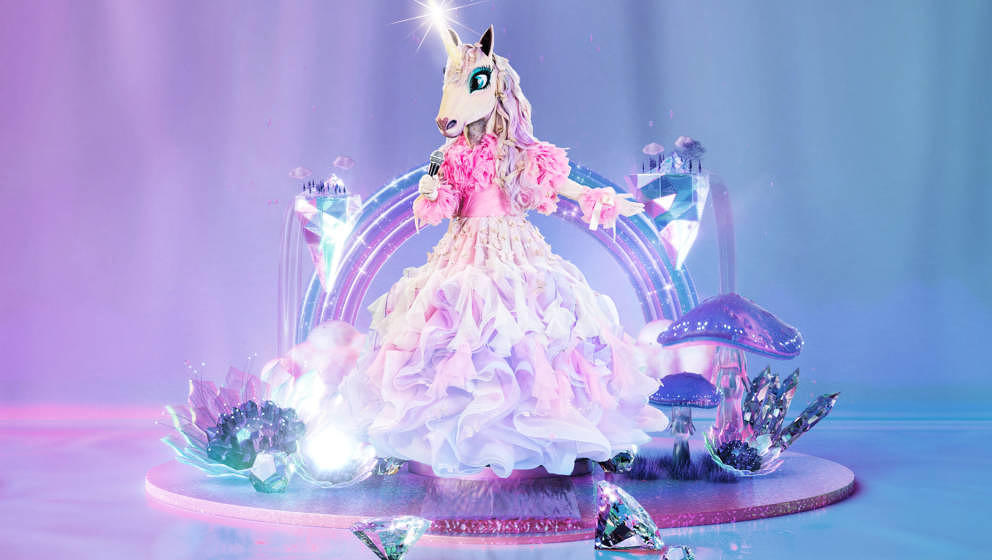Titel: The Masked Singer; Person: Das Einhorn; Copyright: ProSieben/Willi Weber; Fotograf: Willi Weber; Dateiname: 2188965.jp