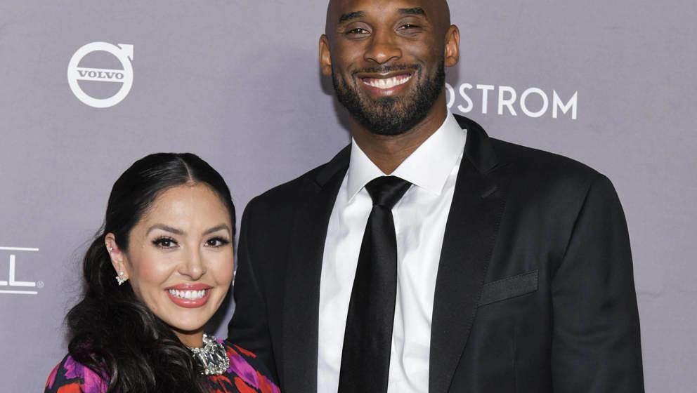 Vanessa und Kobe Bryant, 2019 in Culver City, Kalifornien.