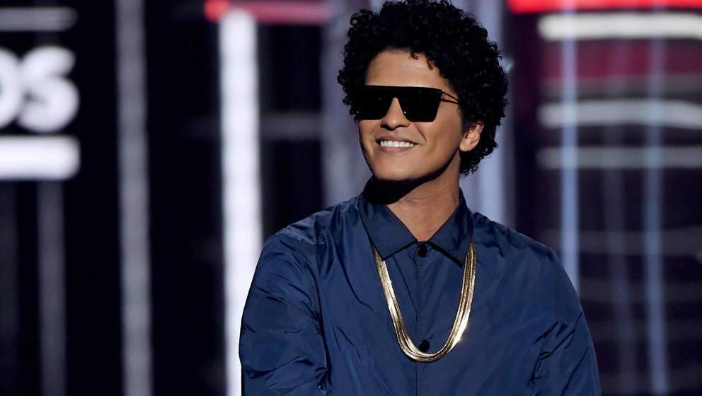 Bruno Mars 2018 bei den Billboard Music Awards in Las Vegas, Nevada.