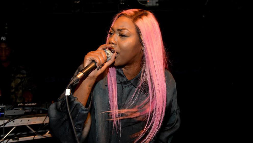 Auch sie ist Teil der Hotlist 2021: die britische Rapperin und Sängerin Shygirl.