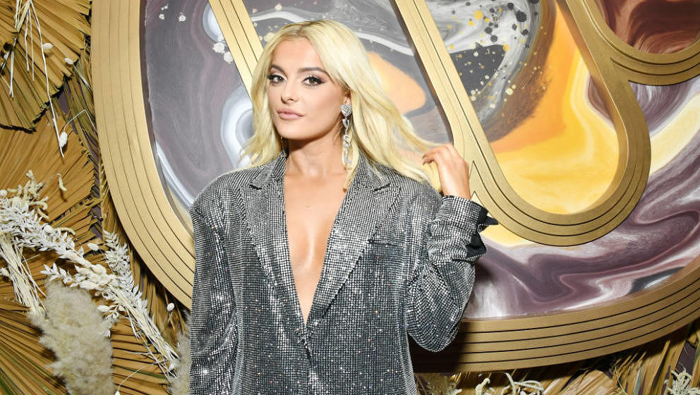 HOLLYWOOD, CALIFORNIA - JANUARY 23: Bebe Rexha attends the Warner Music Group Pre-Grammy Party at Hollywood Athletic Club on