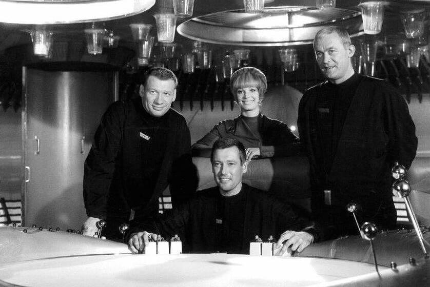 Die Raumpatrouille Orion: Leutnant Mario de Monti (Wolfgang Völz), Major Cliff Allister McLane (Dietmar Schönherr), Leutnan