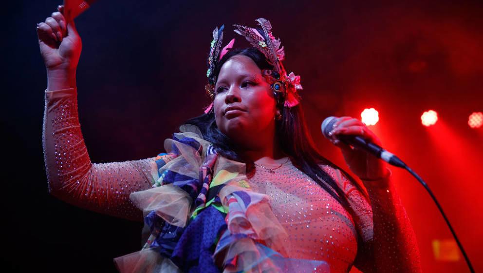 LONDON, ENGLAND - NOVEMBER 05: Shygirl performs at Scala on November 05, 2019 in London, England. (Photo by Burak Cingi/Redfe