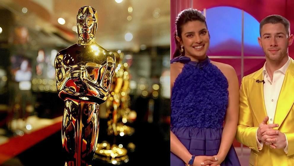 Priyanka Chopra Jonas und Nick Jonas geben die Academy-Awards-Nominierungen für die 93. Oscars bekannt.