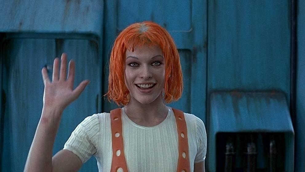 """Milla Jovovich in """"Das fünfte Element"""" von 1997"""