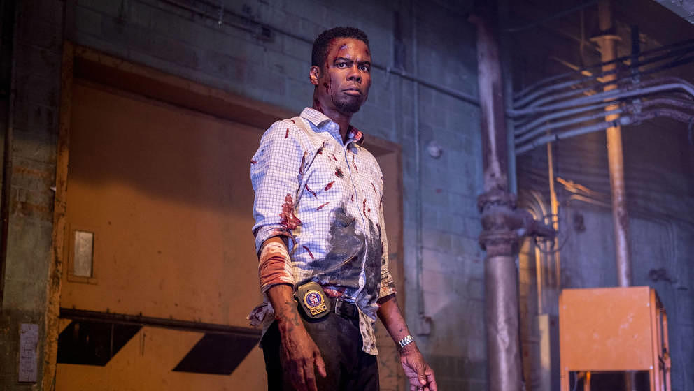 "Chris Rock in ""Saw 9: Spiral"""