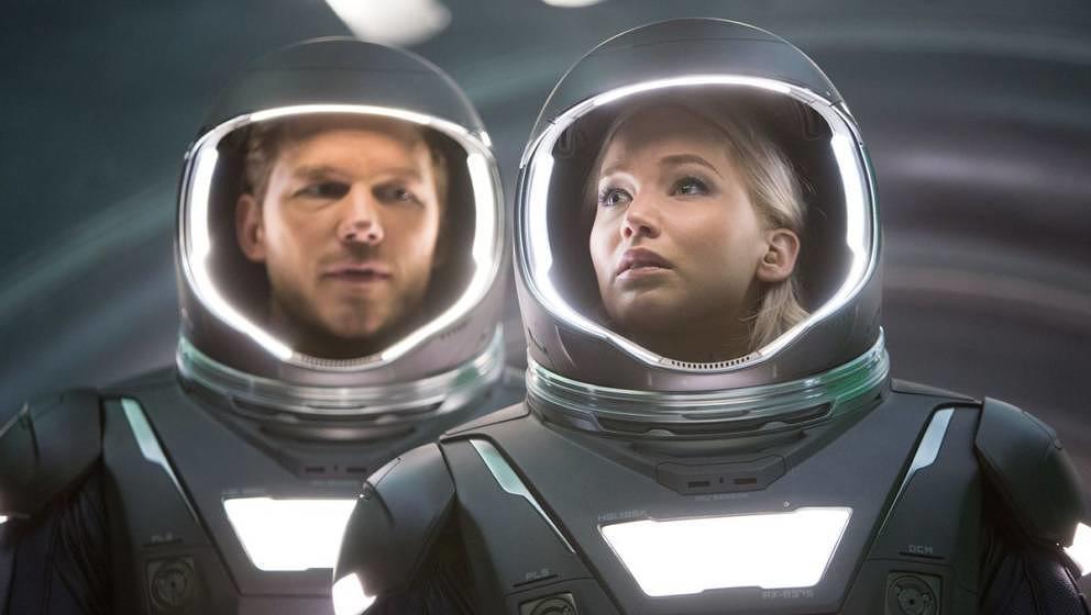 """""""Passengers"""" mit Jennifer Lawrence und Chris Pratt läuft am 15.04. um 20:15 Uhr auf Vox."""