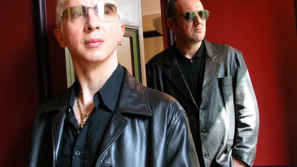 (NETHERLANDS OUT) NETHERLANDS - AUGUST 29:  Photo of SOFT CELL; Marc Almond & Dave Ball  (Photo by Lex van Rossen/MAI/Red