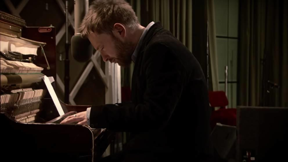 Thom Yorke in Thom Yorke in der 'From the Basement'-Session.