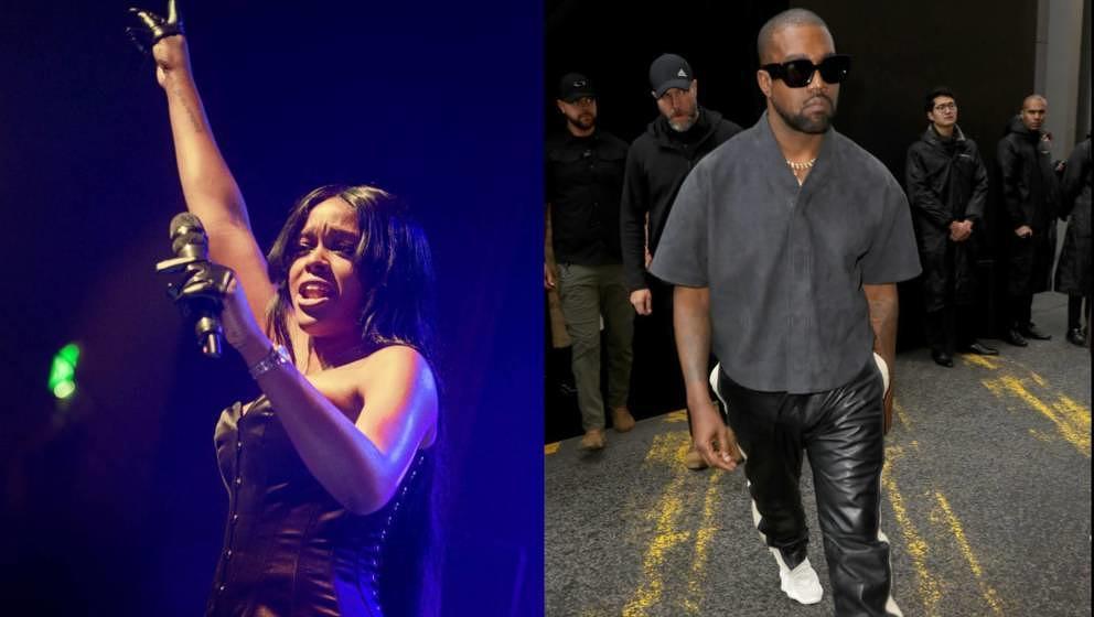 Kanye West & Azelia Banks