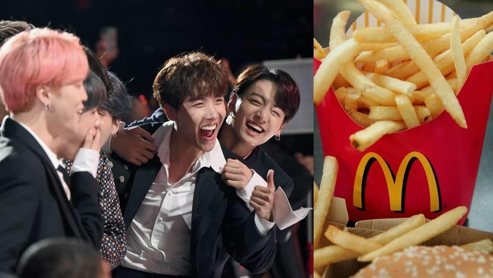K-Pop-Fans dürfen sich auf ein McDonalds-Menü freuen.