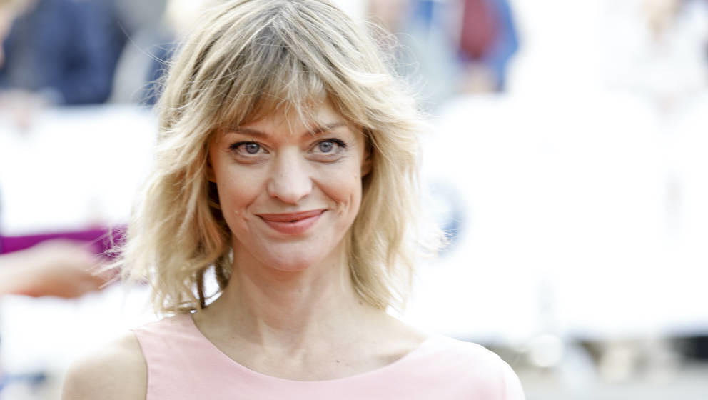 BERLIN, GERMANY - APRIL 27: German actress Heike Makatsch attends the Lola - German Film Award red carpet at Messe Berlin on