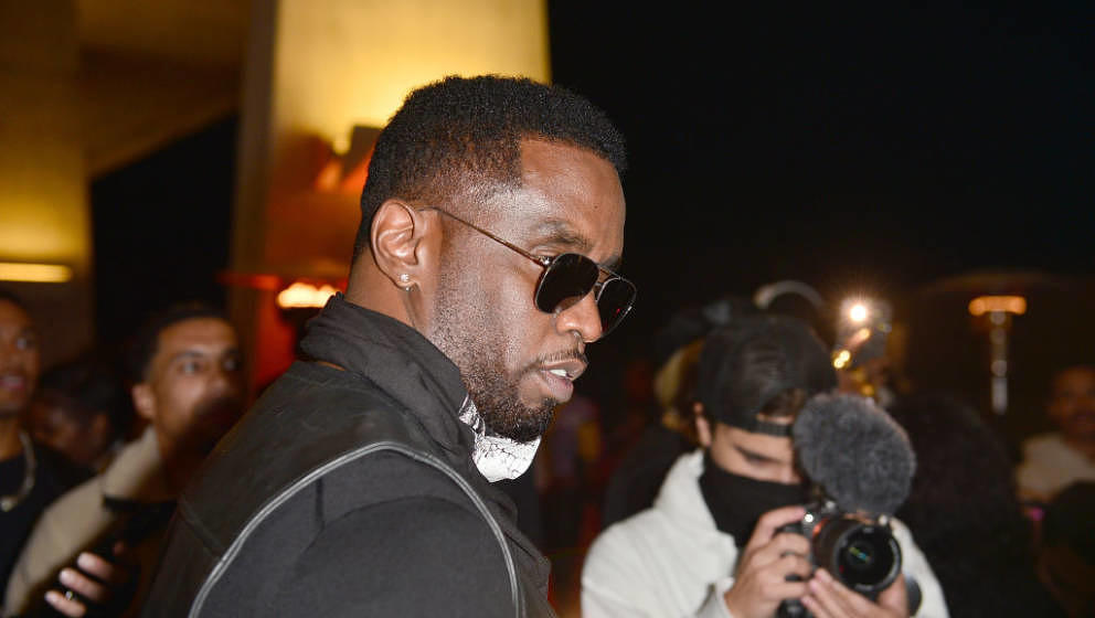 MIAMI BEACH, FL - DECEMBER 09:  Sean 'Diddy' Combs attends Teyana Taylor's Dirty Thirty Birthday Party at 111 Lincoln Road on